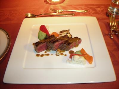 2日目のホテル夕食