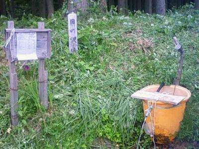 田の沢清水