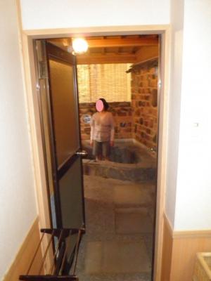 個室露天風呂付
