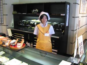 和菓子屋さんで