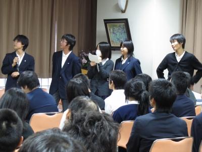 修学旅行報告会8