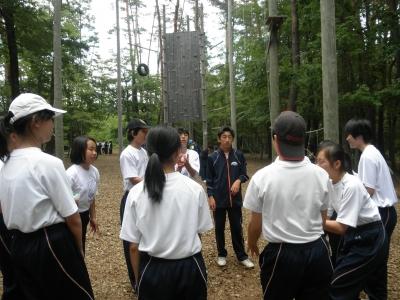 二日目国際自然学校2