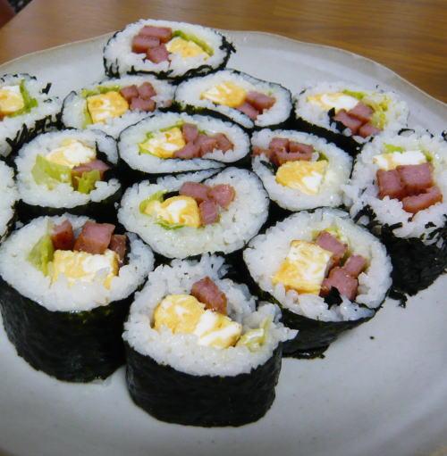 スパム巻き寿司
