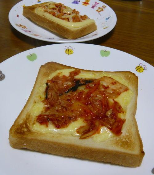 キムチトースト