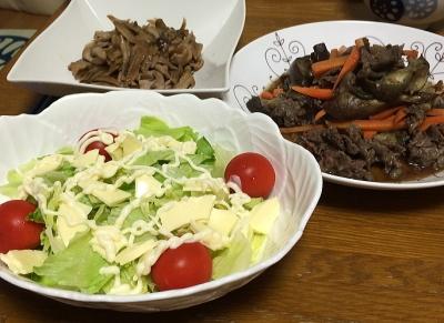 牛肉と茄子炒め