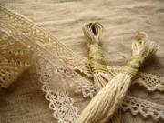 lレース&刺繍糸