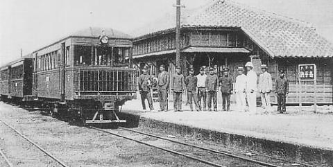 嘉手納駅(沖縄県営鉄道嘉手納線)