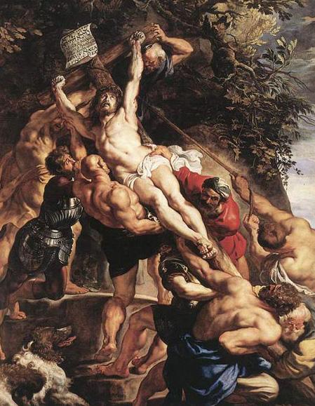 レンブラント「キリスト昇架」