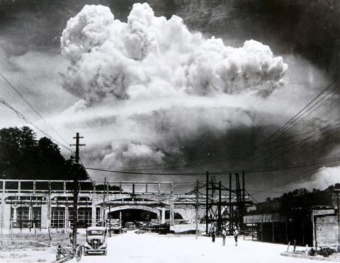 キノコ雲 長崎