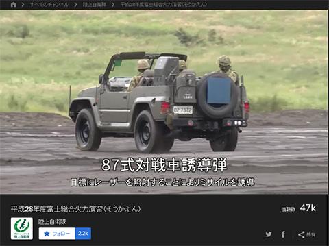 自衛隊総合火力演習