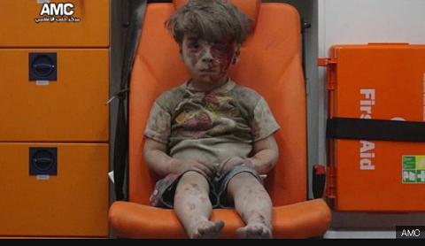シリア被災民