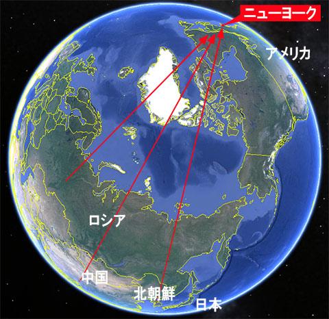 アメリカ東海岸攻撃
