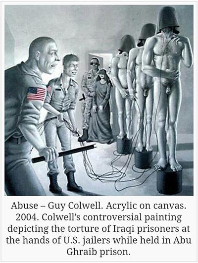コローウェルの絵画