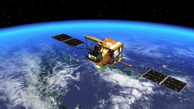人工衛星を使った監視システム