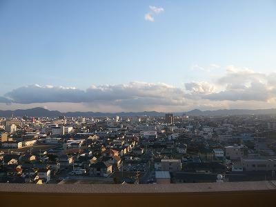 フローレンス東古松 15階からの眺望