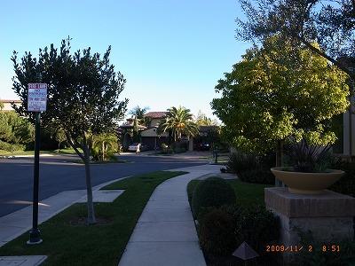 カリフォルニア 高級住宅 外観 ロケーション