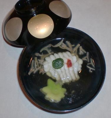 水無月椀物
