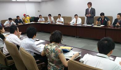 中小企業庁との交渉
