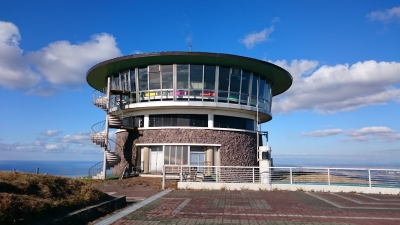 男鹿半島観光記念碑