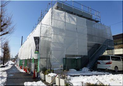 茨城 雪かき