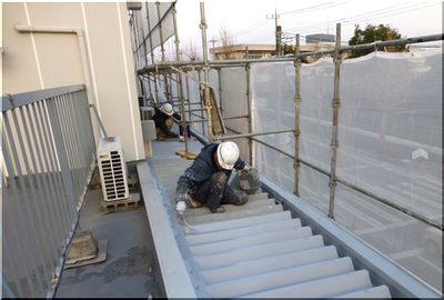 守谷市 屋根 遮熱塗装