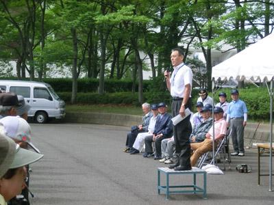 長野県た体育センター塚田所長挨拶