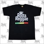 ラスタTシャツROOTS REGGAE[BLK] bk002