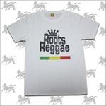 ラスタTシャツROOTS REGGAE[WHT] bk003