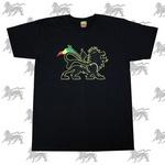 ラスタTシャツ RASTALION[BLK] bk007