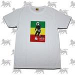 ラスタTシャツ BOB MARLEY[WHT] bk010