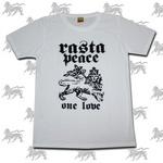 ラスタTシャツ RASTA PEACE[WHT] bk016