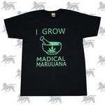 マリファナTシャツ [BLK] bk019