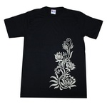 ロータスTシャツ [蓮/インド/仏教/ヒンドゥー]bk020