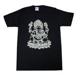 ガネーシャTシャツ [インド/ヒンドゥー]bk021