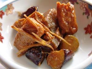クラチャイと茄子の味噌炒め