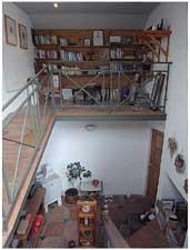 読書スペース(最上階)