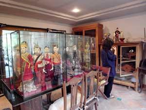 人形のコレクション(1階)