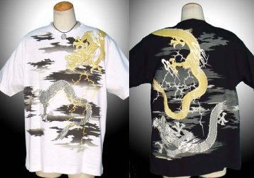 華鳥風月の半袖Tシャツの画像