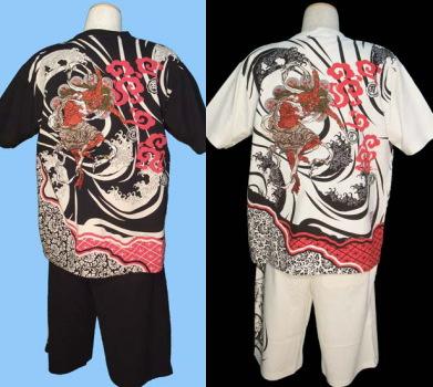 絡繰魂(からくり魂)のTシャツスーツの詳細画像へ