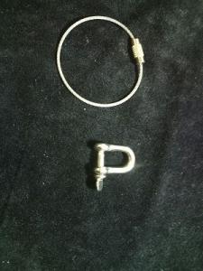 ■シャックル ネジ式ワイヤーリング