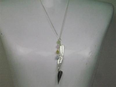 シルバーアクセサリー・ペンダント「笹の葉さらさら」|SilverDrop