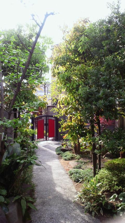 自宅の玄関