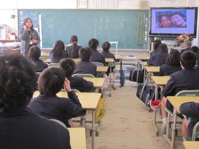 隈之城小学校でいのちの授業をし...