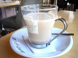 DOUP CAFEのカフェラテ