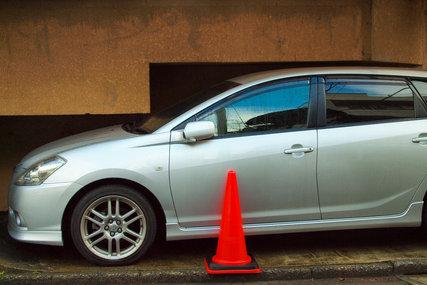 仰天駐車スペース