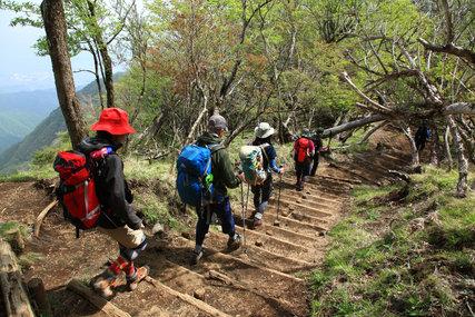 塔ノ岳ドラクエ山歩