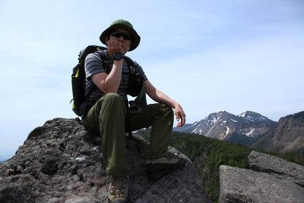 北八ヶ岳にゅう山頂