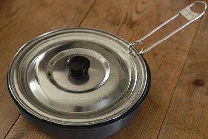 エコー金属 ステンレス兼用鍋蓋(小)