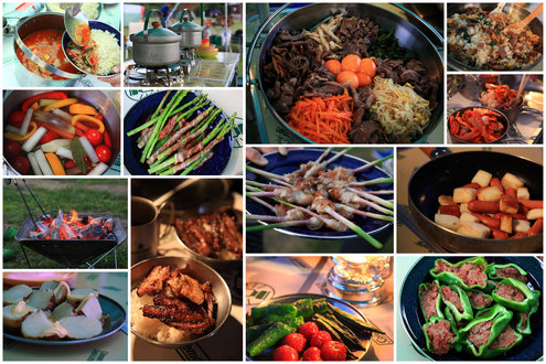 お盆キャンプ料理2013アラカルト