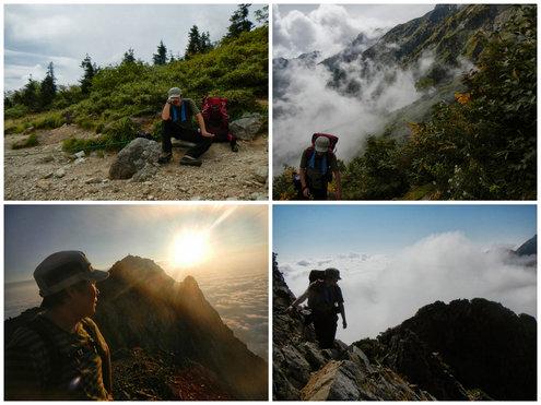 五竜岳山歩サムネイル